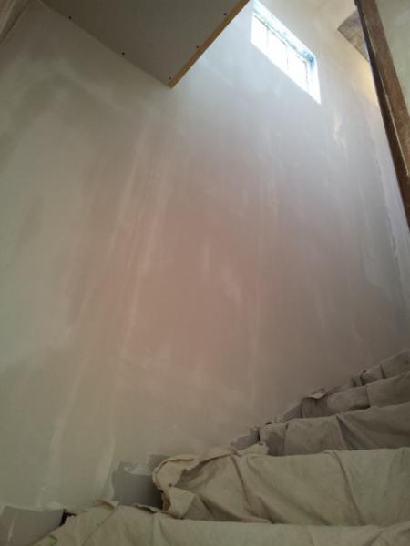 doublage de mur laine roche et ba13