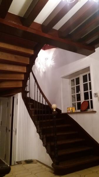 peinture des murs et de l'escalier