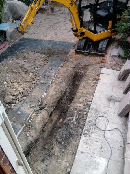 ouverture dalle beton
