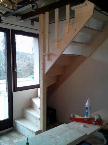 escalier pour accès difficile bis