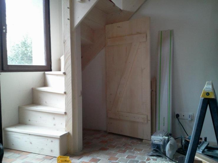 escalier pour accès difficile