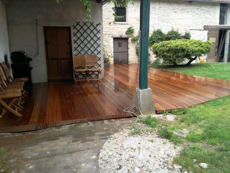 album photos photos de chantiers terrasse en bois terrasse en bois