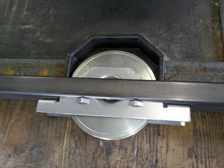 roue a gorge ronde