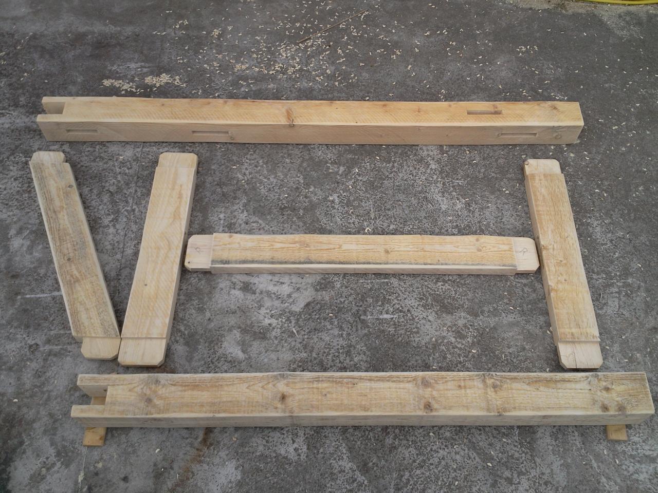 Construction d 39 un abri pour bois de chauffage for Entreposer bois de chauffage