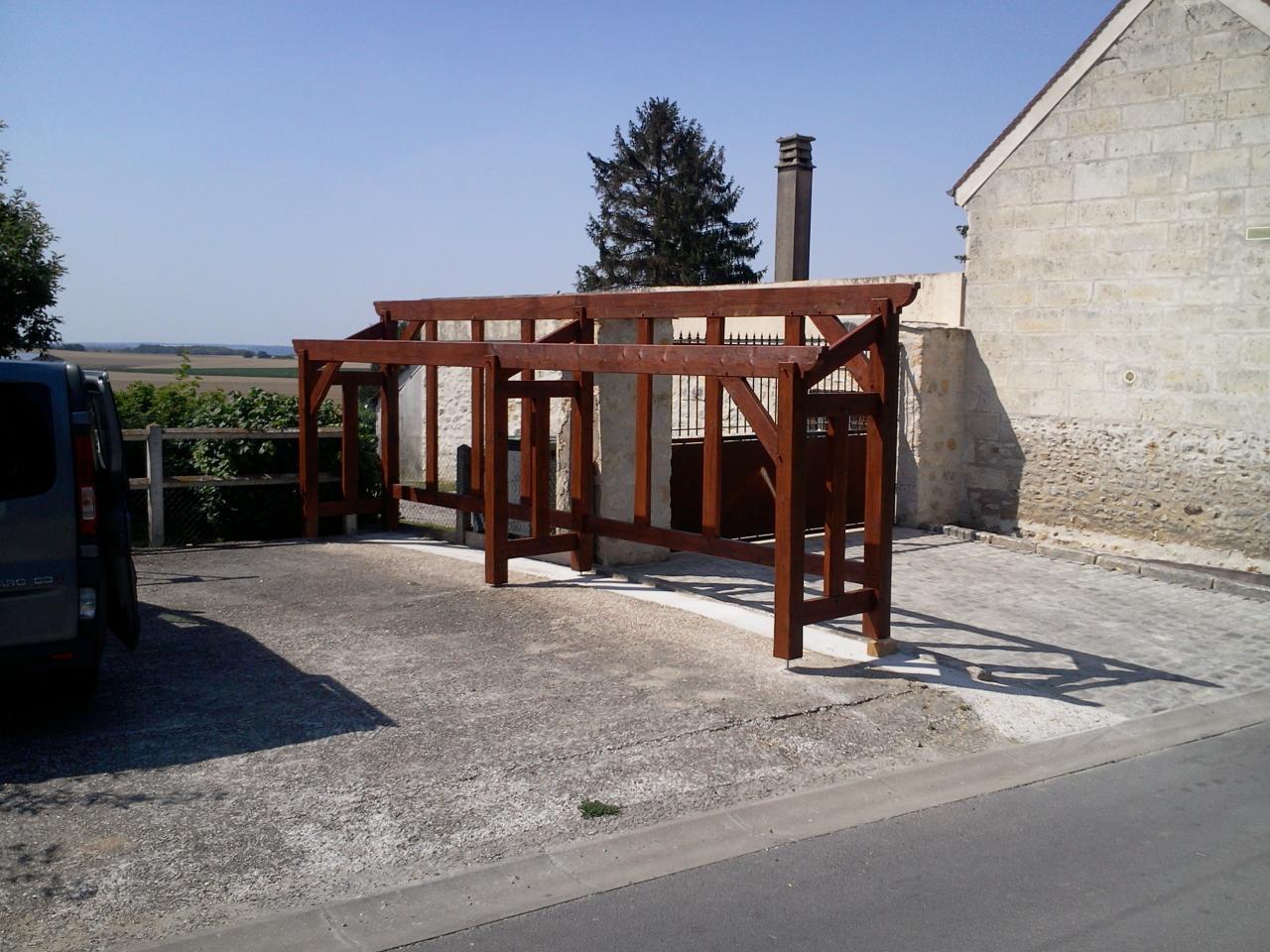 Construction d'un abri pour bois de chauffage # Abri De Bois De Chauffage