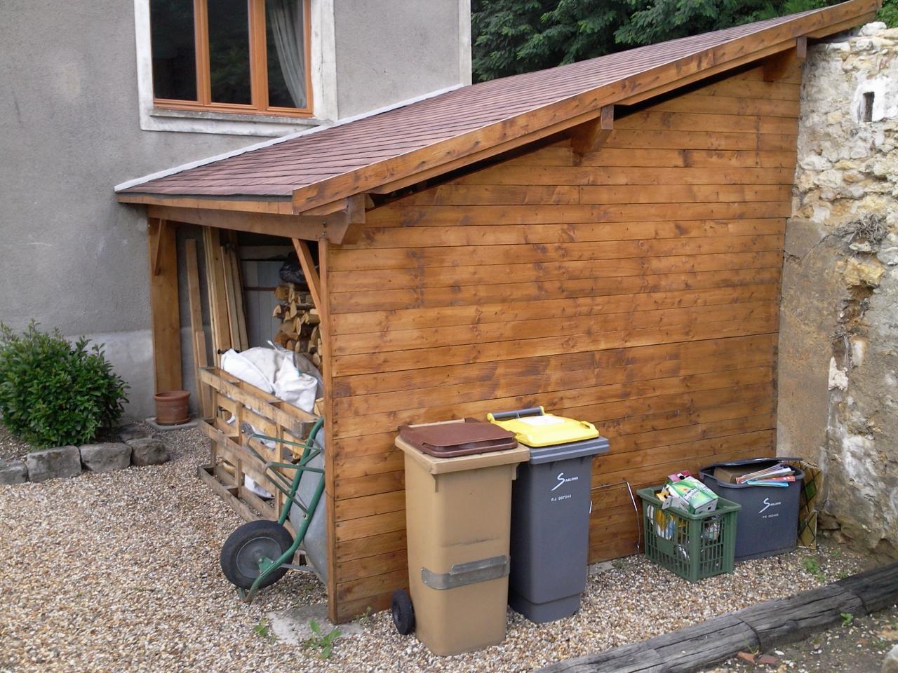 Construction d'un abri pour bois de chauffage # Abri À Bois De Chauffage
