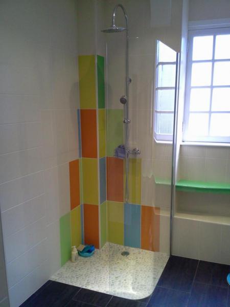 douche pour enfants