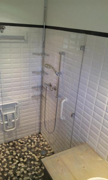 salle de bain sécurisée
